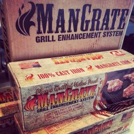 The ManGrate Grill Enhancement System