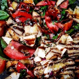 Steaknight Magazine Panzanella Salad