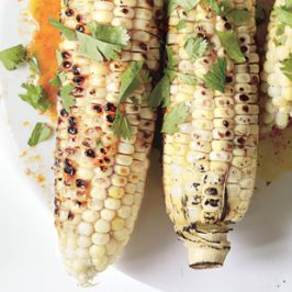 Grilled Corn With Hoisin-Orange Butter
