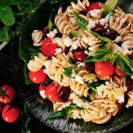DeOliveira Greek Pasta Salad