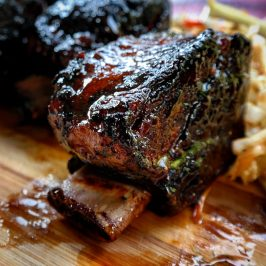 Honey BBQ Sous Vide Short Ribs